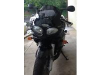 Triumph Sprint RS 955i Reg 2002 12 months Mot only 7800 miles (with service history)