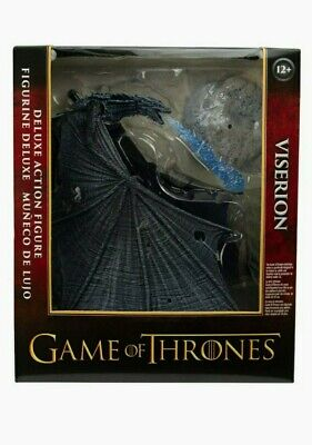 """Games Of Thrones (GOT) Viserion Ice Dragon 9"""" Action Figure By McFarlane"""