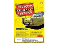 Only Fools & 3 Courses Dining Experience at Mercure Maidstone Great Danes Hotel