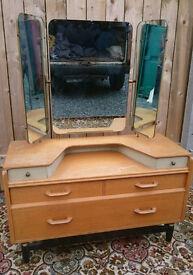 Vintage Retro Gplan Dressing Table