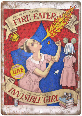 Alive Circus Fire Eater Invisible Girl 12