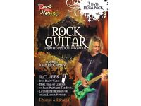 """The Rock House Method """"Rock Guitar 3 DVD Pack With Tab""""."""