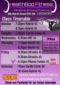 Fitness Classes Dromore