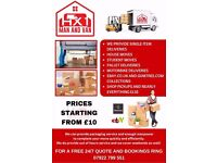 Fridge/Sofa/Bike deliveries/ House moves/clearances Man with van rental