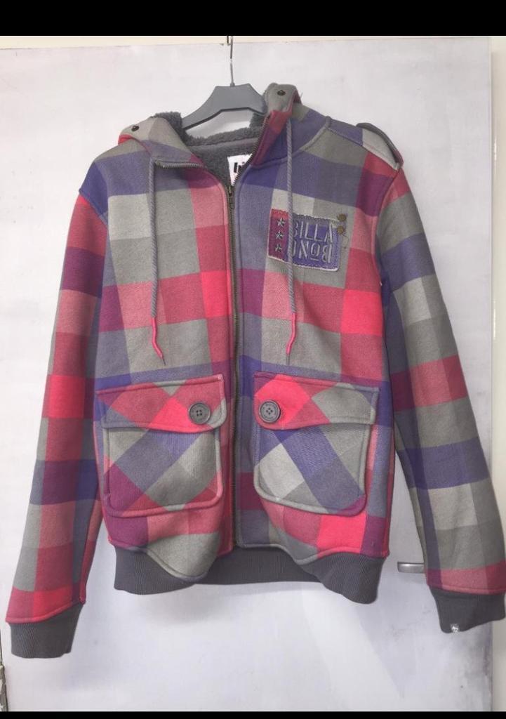 Women's billabong hoodie size 14