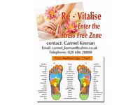 Reflexology/ Massage professional service, qualified therapist. offer by email.