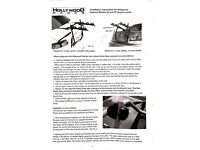 Hollywood Express E3 bicycle carrier