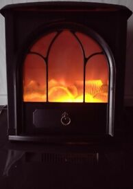 Electric Log Flame Effect Stove Heater