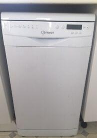 Almost brand new slimline dishwasher - 2 year guarantee