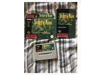 Secret of Mana SNES Game With Booklet and Box