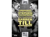 **4 Ringside Seats - UFC Fight Night Liverpool