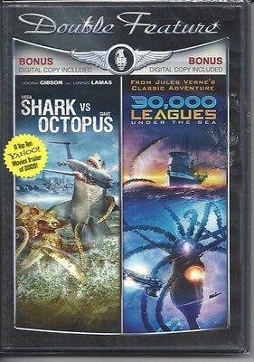 30,000 LEAGUES UNDER THE SEA & MEGA SHARK VS. GIANT OCTOPUS SCI FI MOVIES - Shark Sci Fi Movies