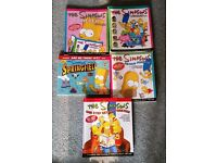 The Simpsons - set of 5 books