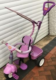Little Tikes 4-In-1 Trike - Purple please view all 9 photos price new today almost £70