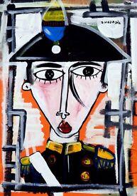art painting prince carlos