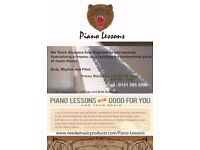 Piano Lessons from £12 | All Levels Welcome