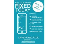 Get Your Phone Fixed Today At LWRepairs - Mobile Phone And Tablet Repairs.