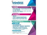 Wireless festival tickets Saturday x2
