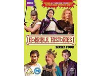 New Horrible Histories Series 4 DVD