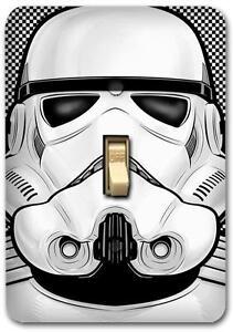 Starwar-Stormtrooper-Metal-Switch-plate-Wall-Cover-Lighting-Fixture-SP749