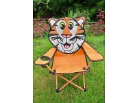Outdoor / Camping Folding Kid's Tiger Seat / Chair