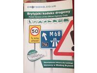Polish version of the official Highway Code ,