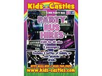 Mr Party Bus *HIRE* Mini Bus :: Birthdays :: Stags :: Hens :: Transfers LIMO