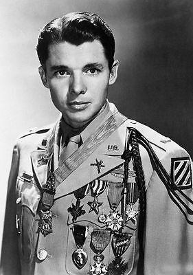 Audie Murphy PHOTO Medal of Honor Winner & World War II Hero Actor CMOH US Army