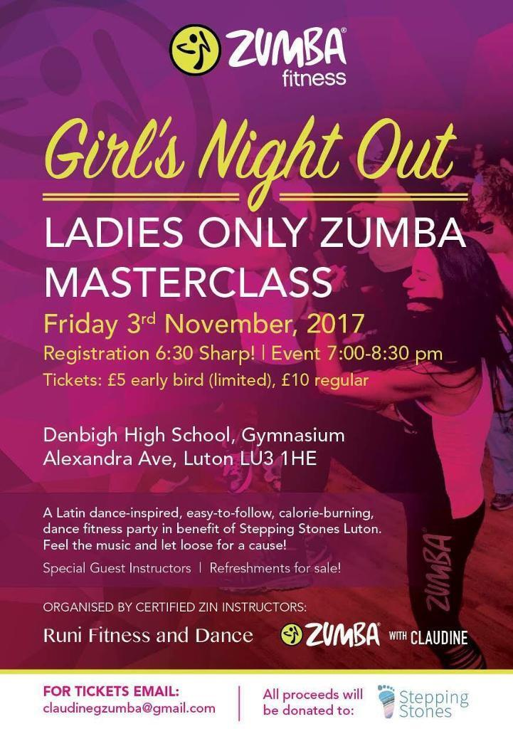 LADIES ONLY ZUMBA EVENT