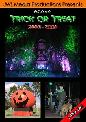 Walt Disney World Mickey's Not So Scary Halloween Party 2003-2006 3 DVD Set