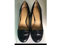 QUICK SALE!! Nine West Patent Black Heels Womens Size 4 With Box
