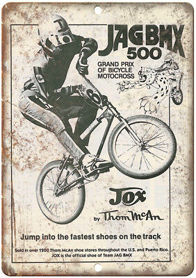 Old school bmx Jag Team Decal set