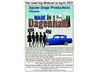 Male Singers wanted for Wantage based Musical-Theatre Production