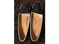 Black platform heels (size 5/5.5 UK)