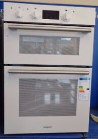 Hotpoint DD2540WH Class 2 Built In Electric Double Oven 60cm Double Cavity (1086