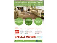 Carpet Cleaning OFFERS. 20% OFF and FREE RUG CLEANS