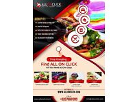 LONDON'S BEST FOOD, LAUNDRY, CATERING & TAXI SERVICE - JUST ON CLICK