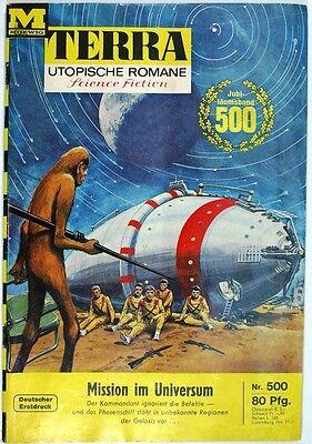 Terra utopische Romane Band 500 in Z1-2