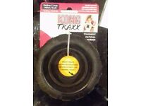 Kong Traxx Rubber Tyre Dog Toy - Medium/Large