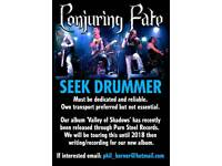 Drummer required for signed N.I band