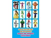 Mascot costume hire Croydon Bromley London
