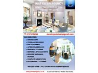 Just Clean - Professional Domestic & Commercial Cleaning Agency