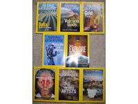 National Geographic Magazines 2007 to 2010 and 2013 to 2016