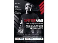 Fitter Fans- Programme for over 40's at Selhurst Park