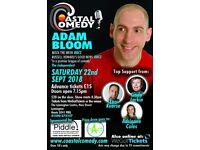 The Coastal Comedy Show with TV headliner Adam Bloom!
