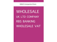 UK Ltd Company - RBS Banking and VAT Registered - Non specialised Wholesale trade
