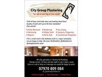 Plasterer City & guilds Qualified