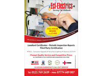 Electrician rewires consumer unit upgrades testing fault finding certification west midlands