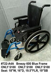 LIQUIDATING USED: Wheelchairs, Walkers, Commodes, Patient Lifts,