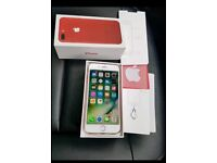 iPhone 7 Plus 128gig Red UNLOCKED & Apple Warrenty